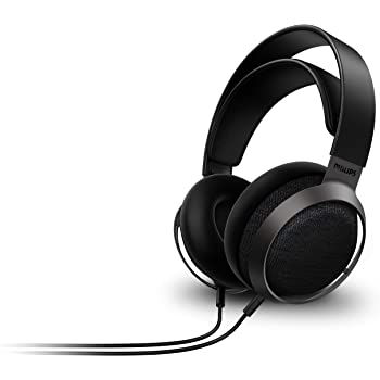 Philips Fidelio X3 Wired Over-Ear Open-Back Headphones, Multi-Layer 50mm diaphragms, Hi-Res Certified, Premium Finishing - Hear The Difference