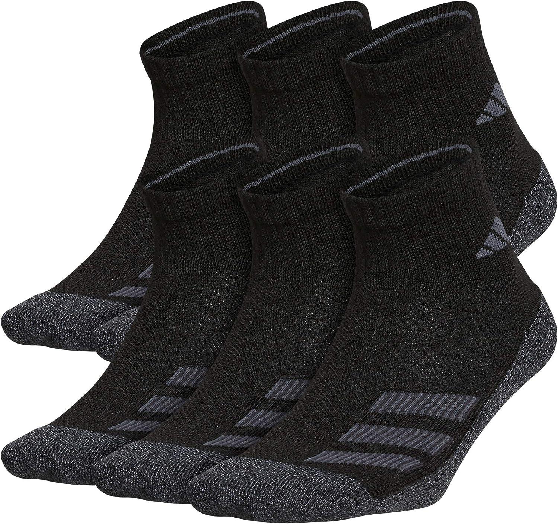 adidas Kids-boy's/Girl's Cushioned Quarter Socks (6-pair) Socks