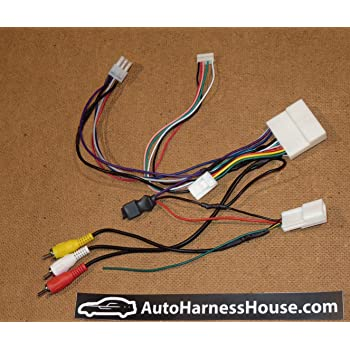 amazon.com: autoharnesshouse aftermarket headunit installation adapter  compatible with subaru 2016-2019: car electronics  amazon.com