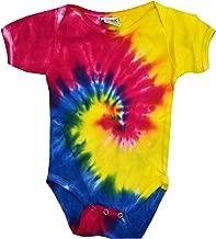 tie dye baby onesie