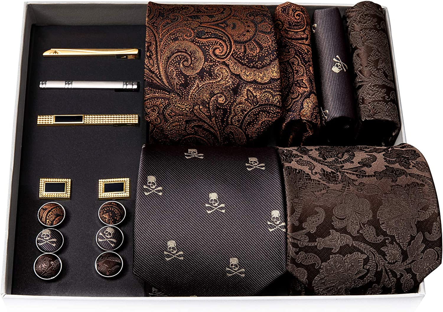 Barry.Wang Max 46% OFF Sale Special Price Designer Mens Tie Collection Eleagnt Box Cl Gift