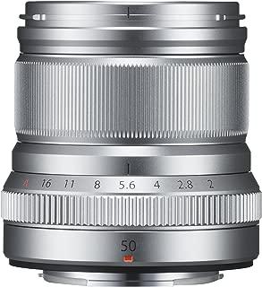 FUJIFILM single focus in the telephoto lens XF50mmF2 R WR S Silver