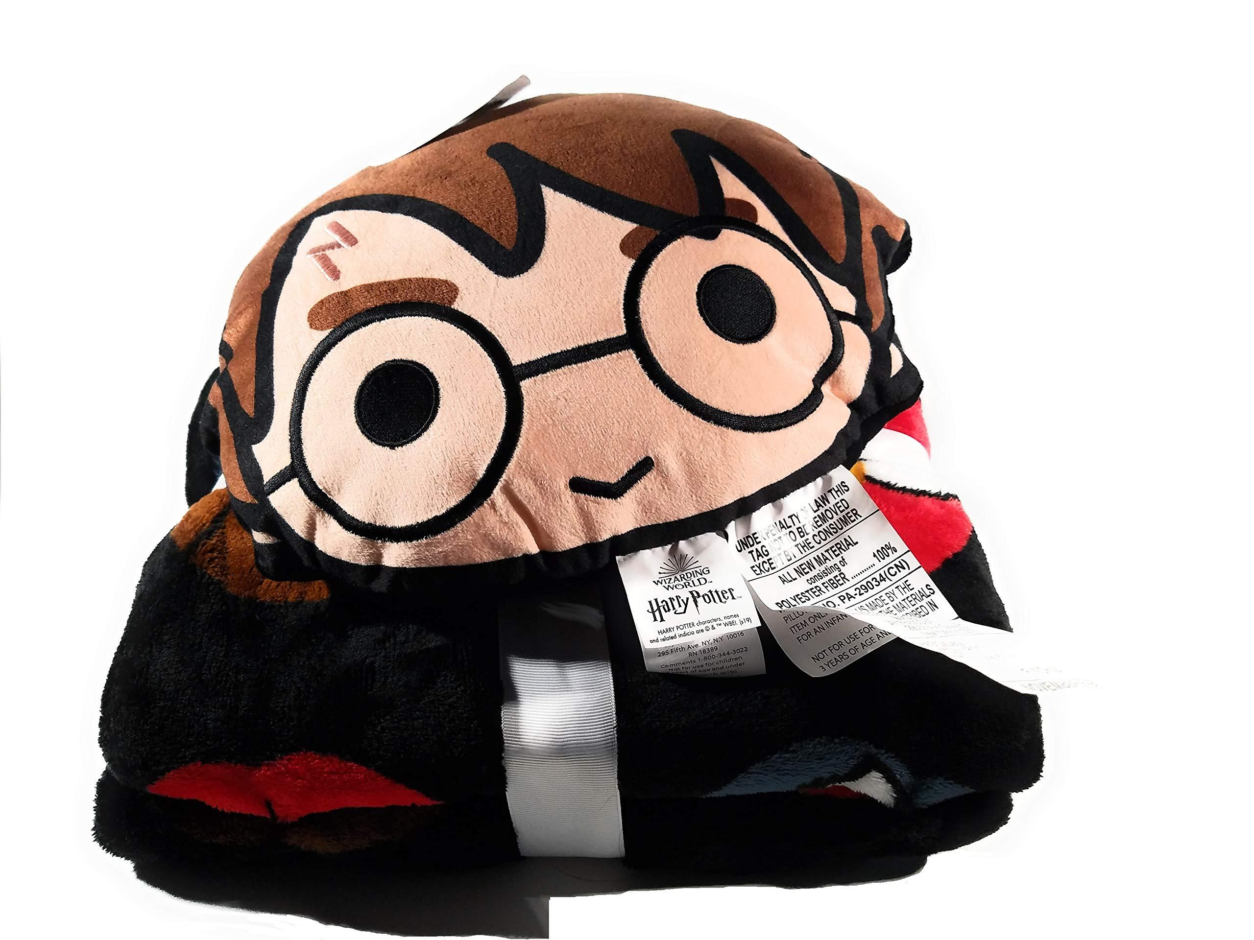 Warner Bros Harry Potter Nogginz Juego de almohada y manta de felpa: Amazon.es: Hogar