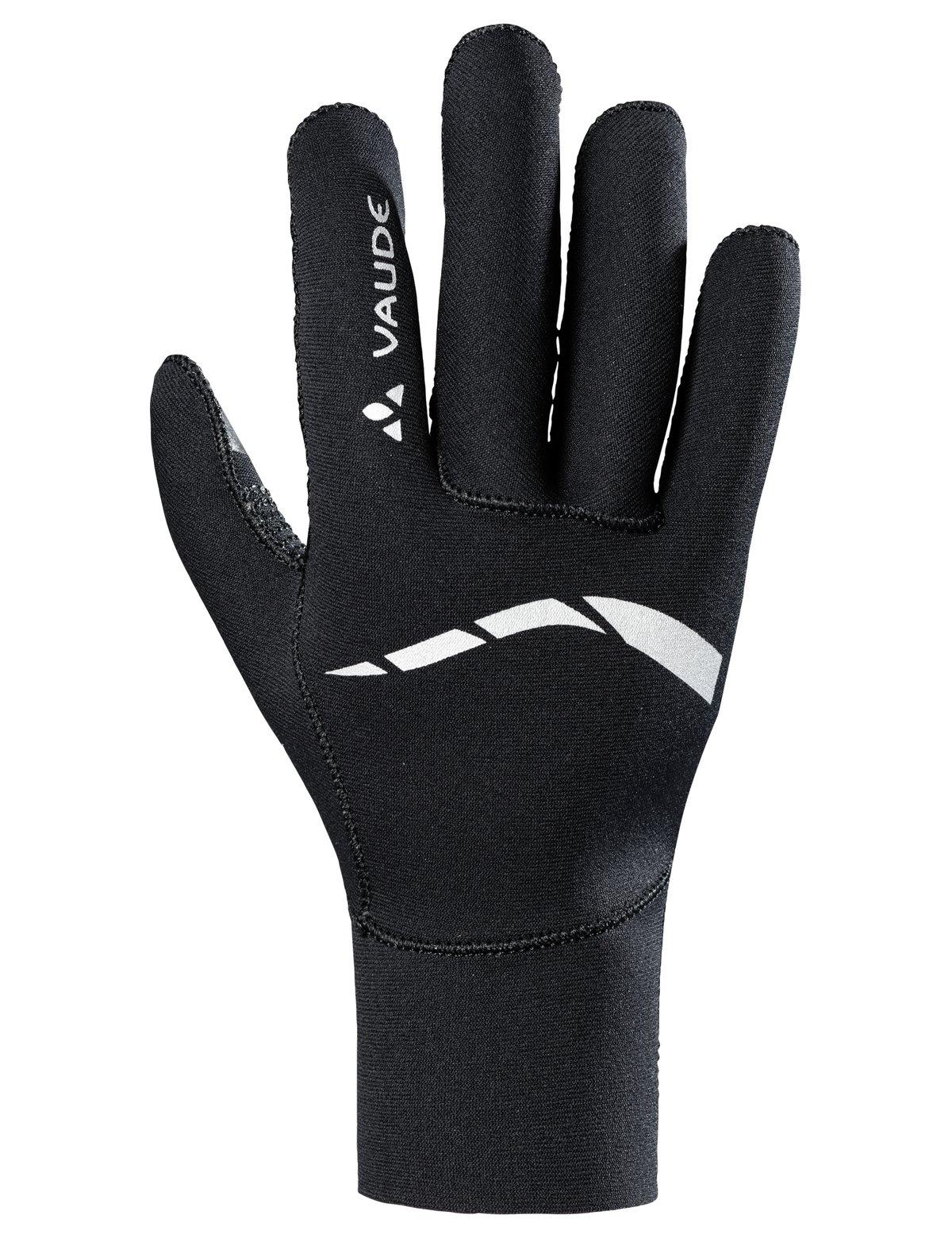 VAUDE Herren Handschuhe Chronos Gloves II, Black, 5, 407360100500
