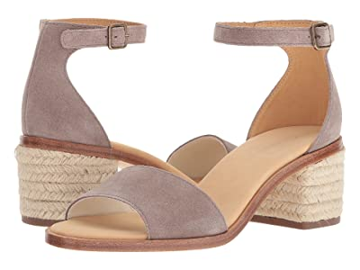 Soludos Capri Suede Heel (Ash) Women