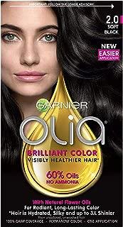 Garnier Olia Oil Powered Permanent Color 2.0 Soft Black 1 Each (Pack of 3)