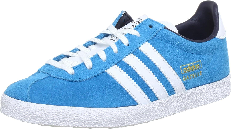 adidas Originals GAZELLE OG W, Sneakers Basses femme, Bleu ...