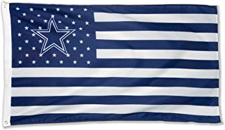 WHGJ NFL Dallas Cowboys 3X5 FT USA Flag Sports Banner Indoor and Outdoor