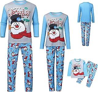 K-Youth Pijamas Familiares Navideñas Ropa para Padres e Hijos Pijamas de Navidad Familia Conjuntos Bebe Niño Navidad Invie...