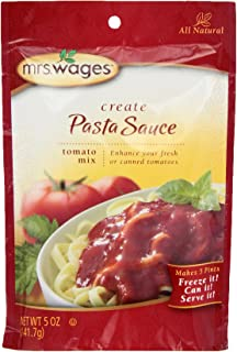 Mrs. Wages Pasta, 5-Ounce Pouches (Pack of 6)