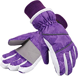 kids waterproof winter gloves