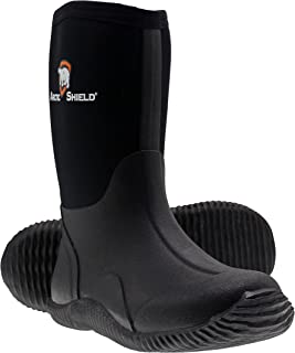 ArcticShield Kids Waterproof Durable Rubber Neoprene Outdoor Boots