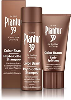 Plantur 39 Phyto caffeine shampoo, colour brown, 250 ml plus