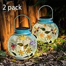 solar powered butterfly lantern