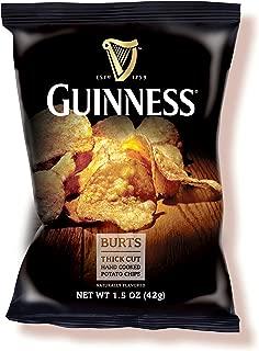 Burt's Guinness Original Thick Cut Potato Chips, 1.5 Ounce (Pack of 20)