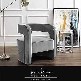 Best gray velvet chairs Reviews
