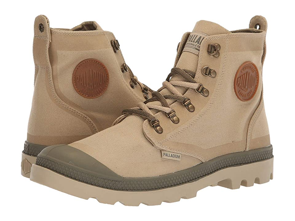 Palladium Pallafox TX (Safari/Dusty Olive) Lace-up Boots