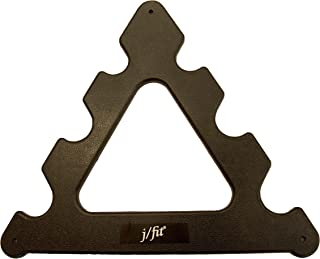 JFIT j/fit Replacement Tree Dumbbell, Black