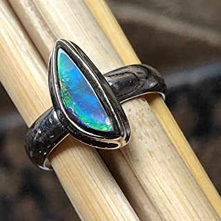 canadian ammolite rings