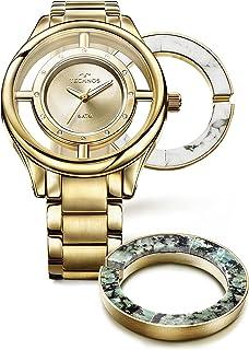 Relógio Technos Feminino Signature Dourado - GL30FK/4X