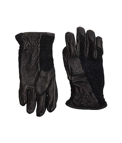 Outdoor Research Merino Work Gloves (Black) Ski Gloves