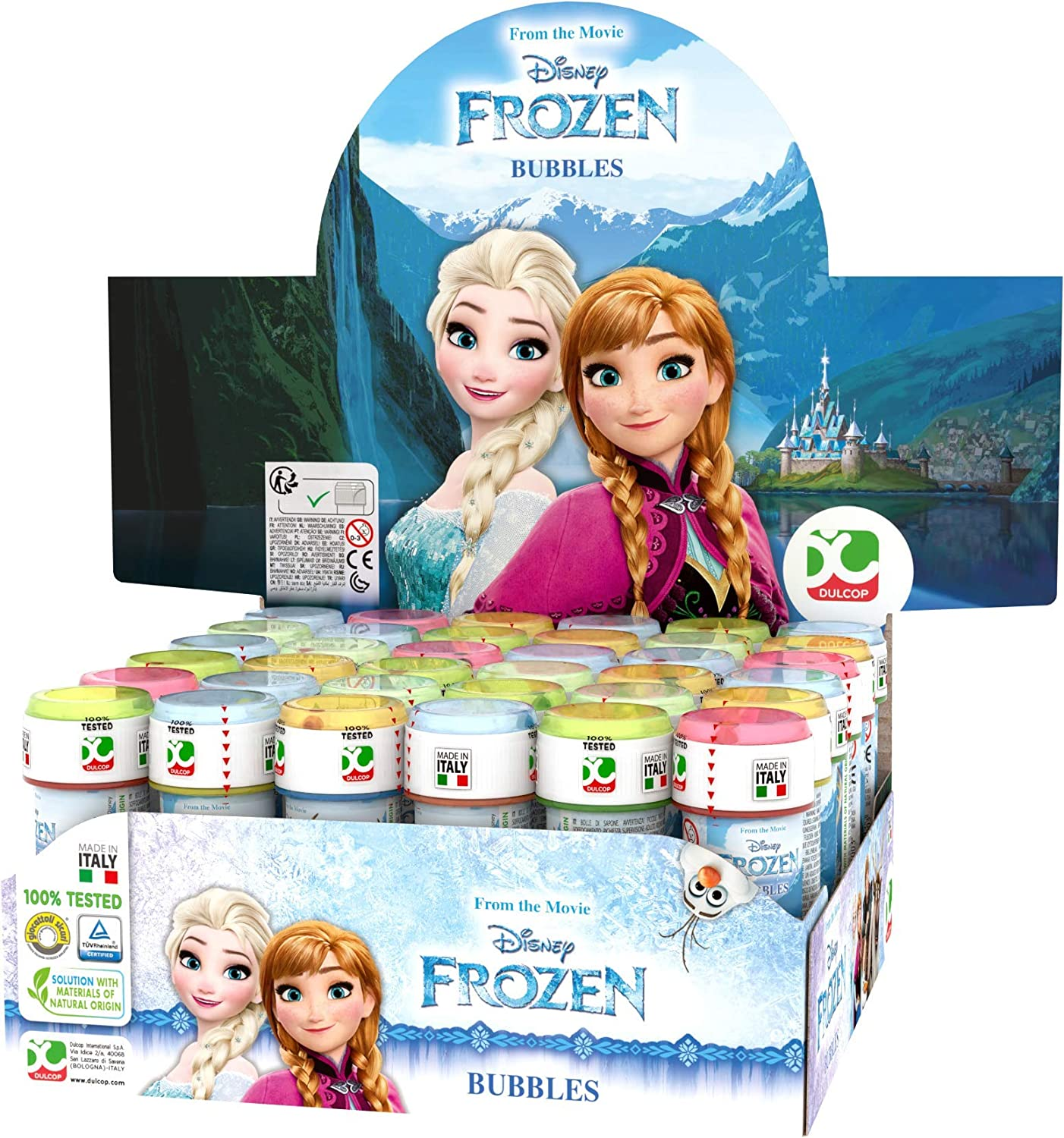 Disney Frozen Standard Bubbles Solution
