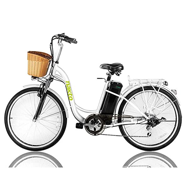 NAKTO 26 250W Cargo Electric Bicycle side view