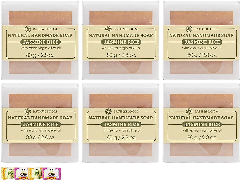 VALUE Sale item PACKS DHL EXPRESS 80G BATH JASMINE BLOOM NEW Max 78% OFF RICE SOAP