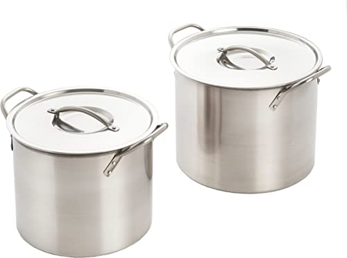 wholesale ExcelSteel Stainless Steel new arrival Stockpot With new arrival Lids online