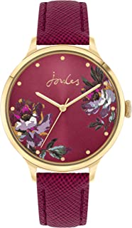 Joules Women's Analogue Quartz Watch with Leather Strap JSL021RG