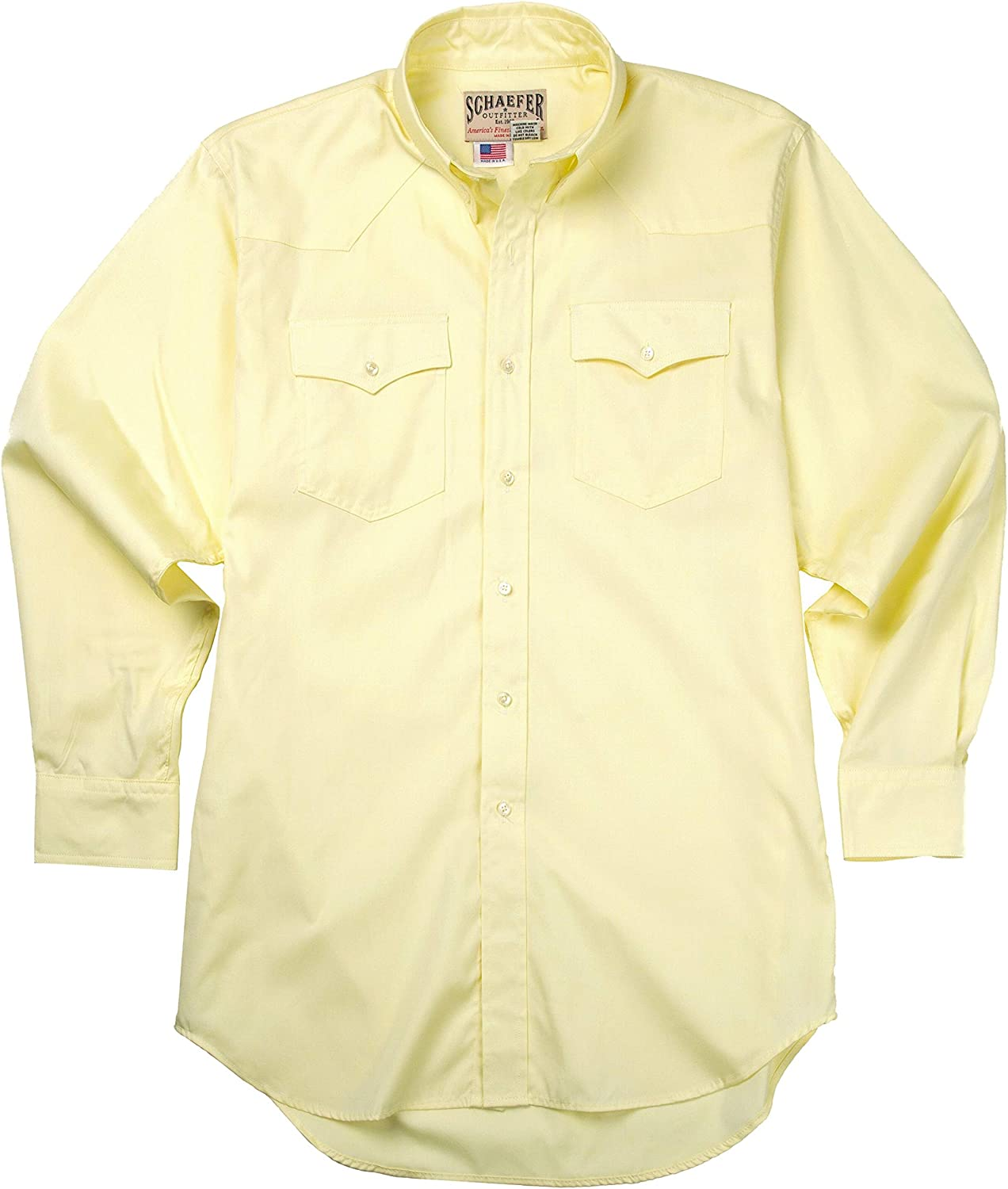 Western Classic B/D Pinpoint Western Shirt