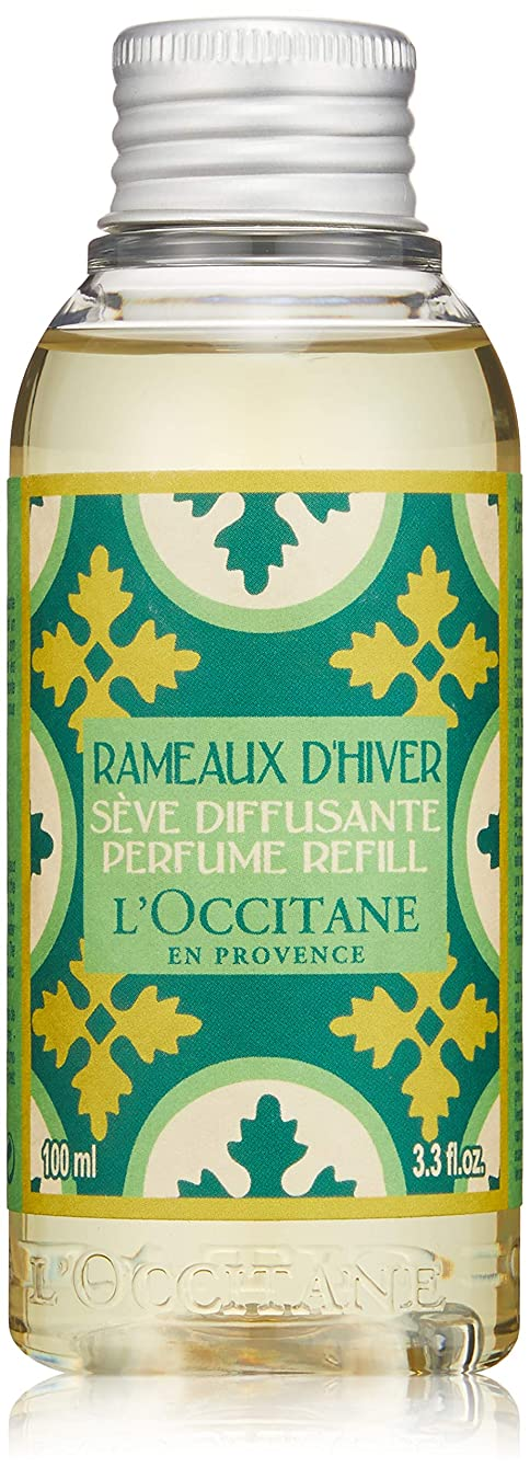 バンドびっくりした夜間ロクシタン(L'OCCITANE) プロヴァンスホーム ルームパフューム ウインターフォレスト(レフィル) 100ml