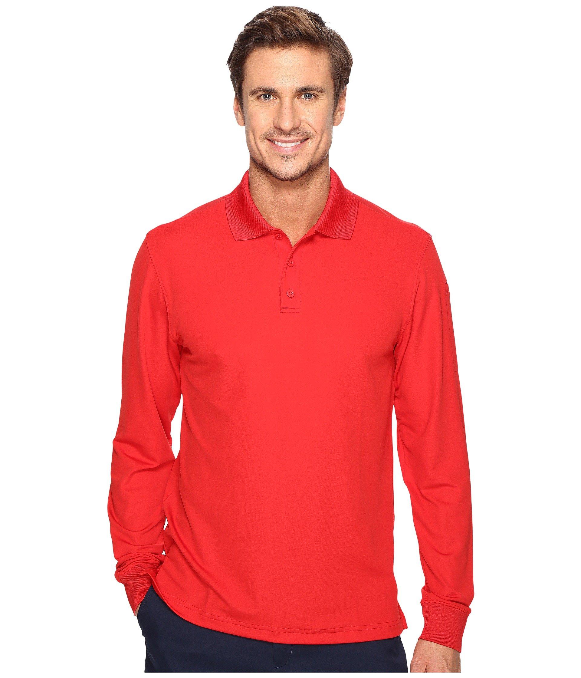 Camiseta Tipo Polo para Hombre Under Armour UA Tac Performance Polo Long Sleeve  + Under Armour en VeoyCompro.net