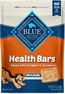 Blue Buffalo Health Bars Natural Crunchy Dog Treats Biscuits