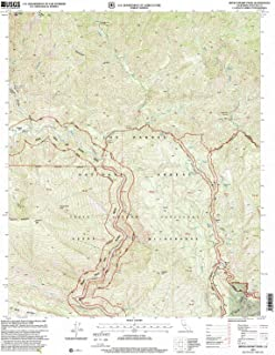 YellowMaps Devils Heart Peak CA topo map, 1:24000 Scale, 7.5 X 7.5 Minute, Historical, 1995, Updated 2000, 26.8 x 22 in