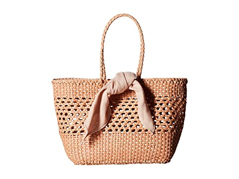 Loeffler Randall Edith Woven Leather Mini Tote