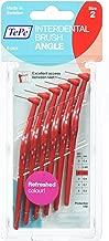Tepe Angled 0.5mm Red Interdental Brushes - Pack of 6