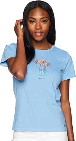 Half Full Daisy Jar Crusher Tee