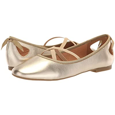 Athena Alexander Saint Paul Flat (Gold Metallic) Women