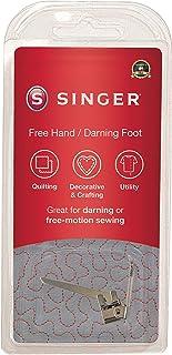 SINGER | خياطة قدم ضاغط تطريز يدوي ومطرز، خياطة مرنة، ثقوب إصلاح، إنشاء حروف حرة - الخياطة سهلة
