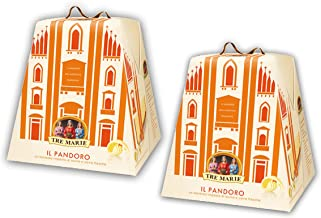 Tre Marie Il Pandoro Traditional Italian Christmas Cake - 2 pack