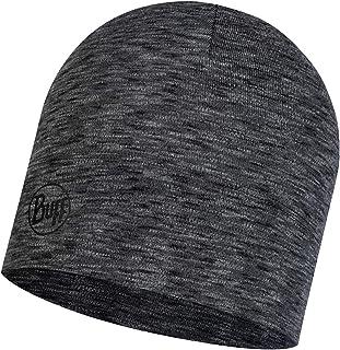 Buff Unisex's Graphite MW czapka z wełny merynosowej, jeden rozmiar
