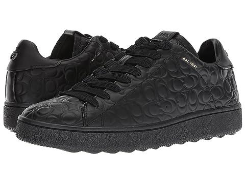 Coachsignature C Cuir Deboss C101 Bas Sneaker Haut Livraison Gratuite Classique En Ligne Exclusif Jeu Authentique Acheter Pas Cher Exclusif wDbyWzwUw