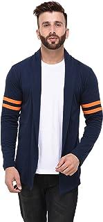 RIGO Men's Cotton Shrug Regular Full Sleeves Cardigan for Casual Wear, Fashion Wear