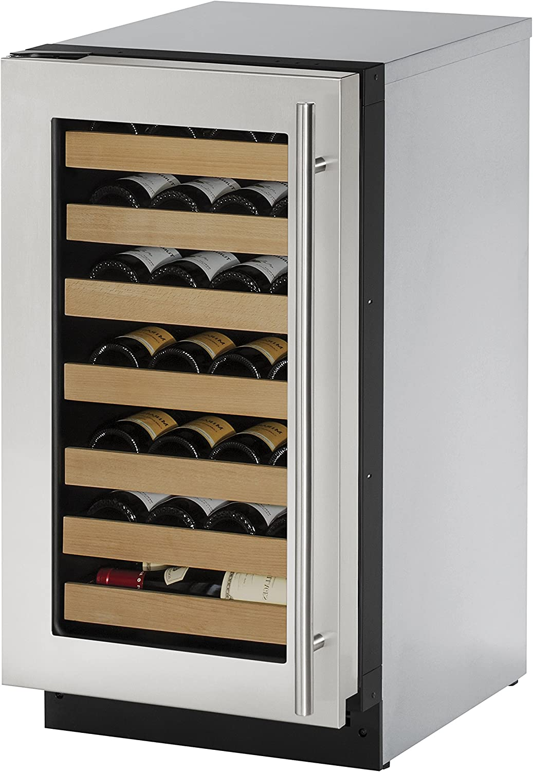 U-Line U2218WCS01A Built-in Wine Storage Stainless Import Steel Attention brand 18