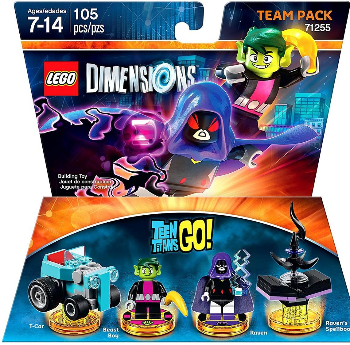Lego Dimensions Titans 71255 Machine Specific