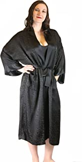jacquard dressing gown