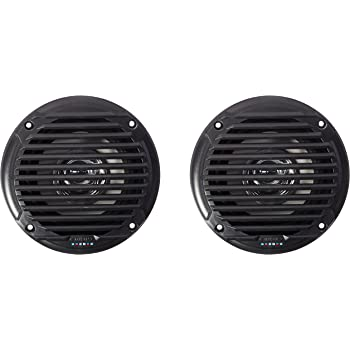 Jensen Model MS5006B Dual Cone Marine Grade Waterproof Black 5.25 Speaker