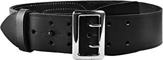 Tactical 365® Operation First Response Police & Security Black Leather Duty Sam Browne Belt Made in the USA