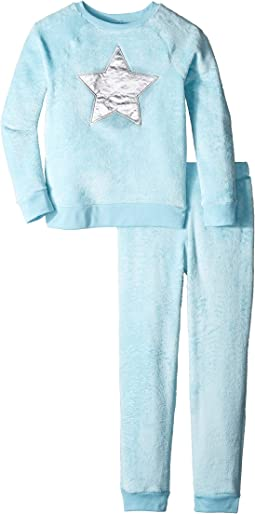 Reversible Sequins Velour Set (Big Kids)